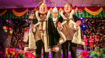 Prins Armin I en Prinses Indy jeugdprinsepaar V.V. de Pinmaekers (Foto's)