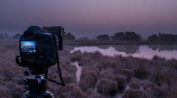 Fotografeer De Peel in het donker