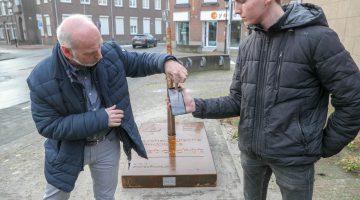 Speer wijst naar martelingen onder oude gemeentehuis Nederweert (Foto's)