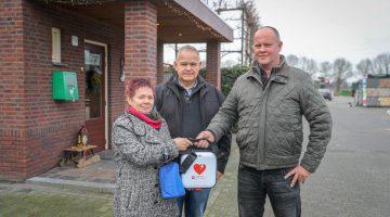 Nieuwe AED bij Gebr. Welten Ospeldijk