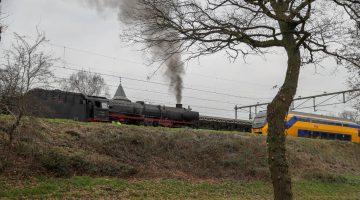 Brand NS-station Weert blijkt rokende stoomtrein
