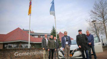 Gemeente Nederweert gaat elektrisch rijden (Foto's)