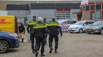 Viertal aangehouden na aantreffen vuurwapen in Ospeldijk