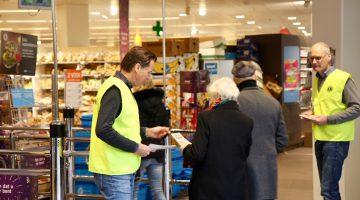Lions Actie voor Voedselbank – een groot succes: + 20%