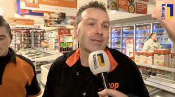 Volle winkelwagen voor de Voedselbank (Video)