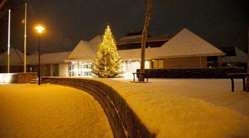 Sneeuw in Nederweert (Foto's)