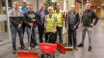 Vrijwilligers zorgen voor een veilige winter