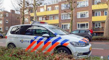 Arrestatie bij doorzoeking woning St. Jozefslaan Weert (Foto's)