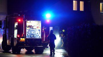 Brand bij geitenhouderij in Leveroy