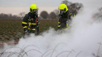 Caravan afgebrand in buitengebied Hunsel