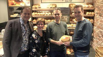Concordia-Küster-Taart in jubileumjaar bakkerij en fanfare