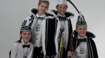 Jeugdprinsereceptie jeugdkarnavalsvereiniging De Krielkes