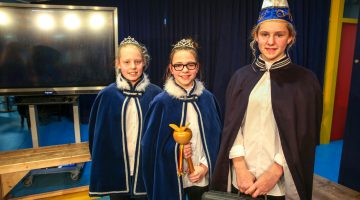 Prinses Mirte en Prinses Fenna prinsessenpaar IKC de Bongerd