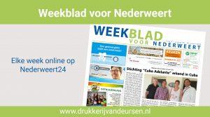 Weekblad voor Nederweert (Week 25)