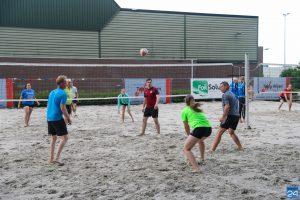 Geslaagde 2e avond van het Open Beach Volleybaltoernooi