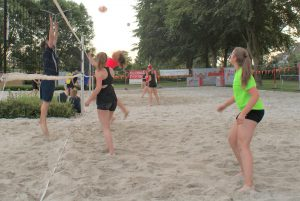 Open Beach volleybal van start