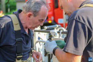 Vogel gered door brandweer in Weert