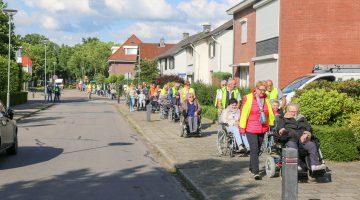Hopelijk dit jaar vijfde editie rolstoeltocht 'Nederweert loopt op rolletjes'