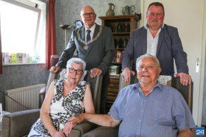 Sjeng en Toos van Roij-Janssen 60 jaar getrouwd