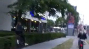 Dagje Bospop eindigt in heg (Video)