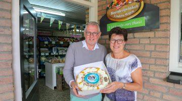 OVN-taart voor Boerderijwinkel Linders-Wijen