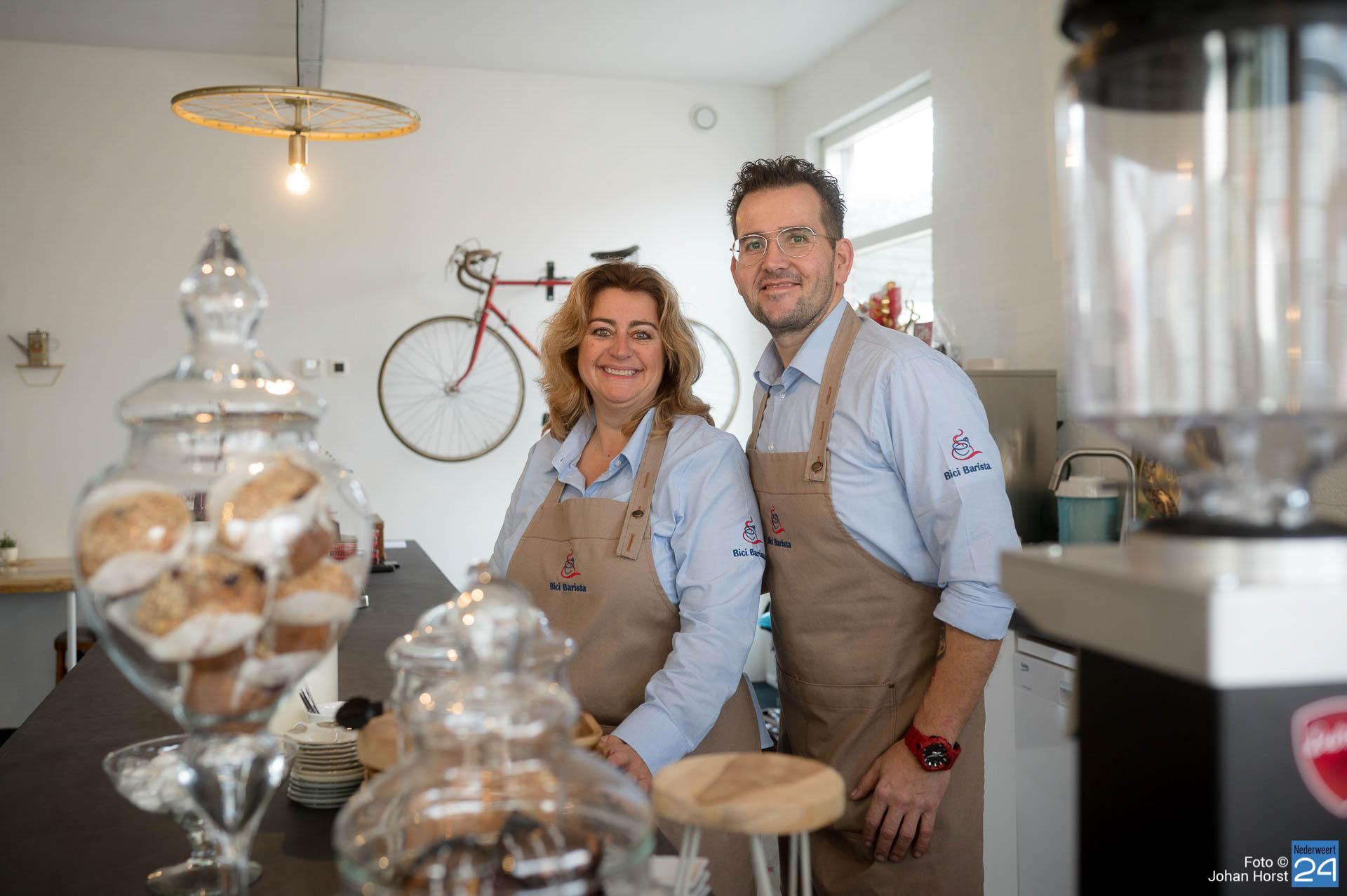Bici Barista Nederweert vanaf nu open | 'Onze passie is lekkere koffie.... En daar gaan wij ver in!' (Foto's) - Nederweert24 - Nederweert24