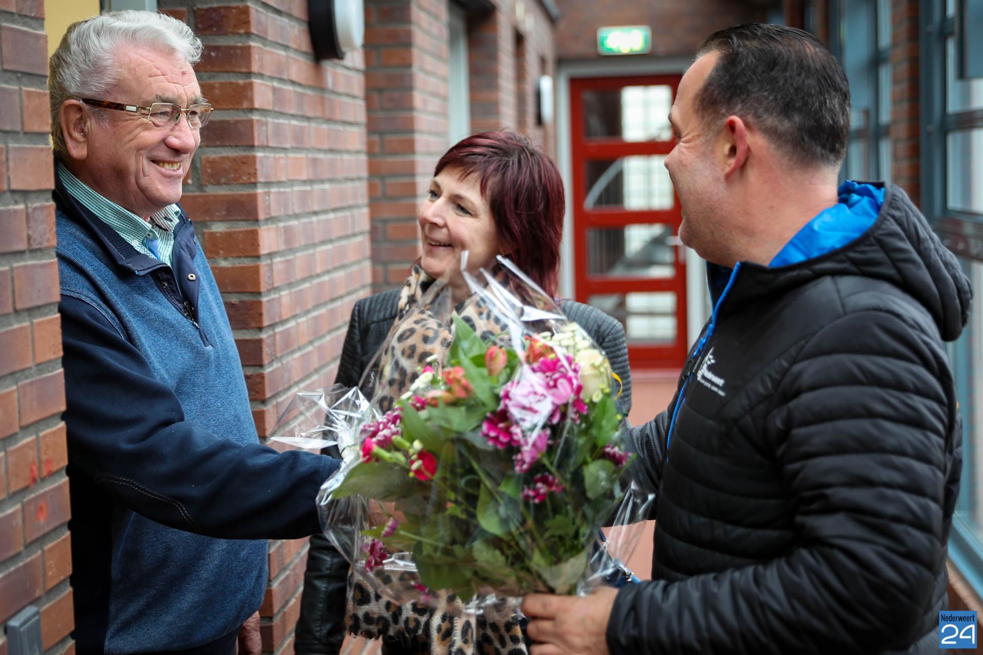Bloemen voor mantelzorger Jan in Nederweert - Nederweert24