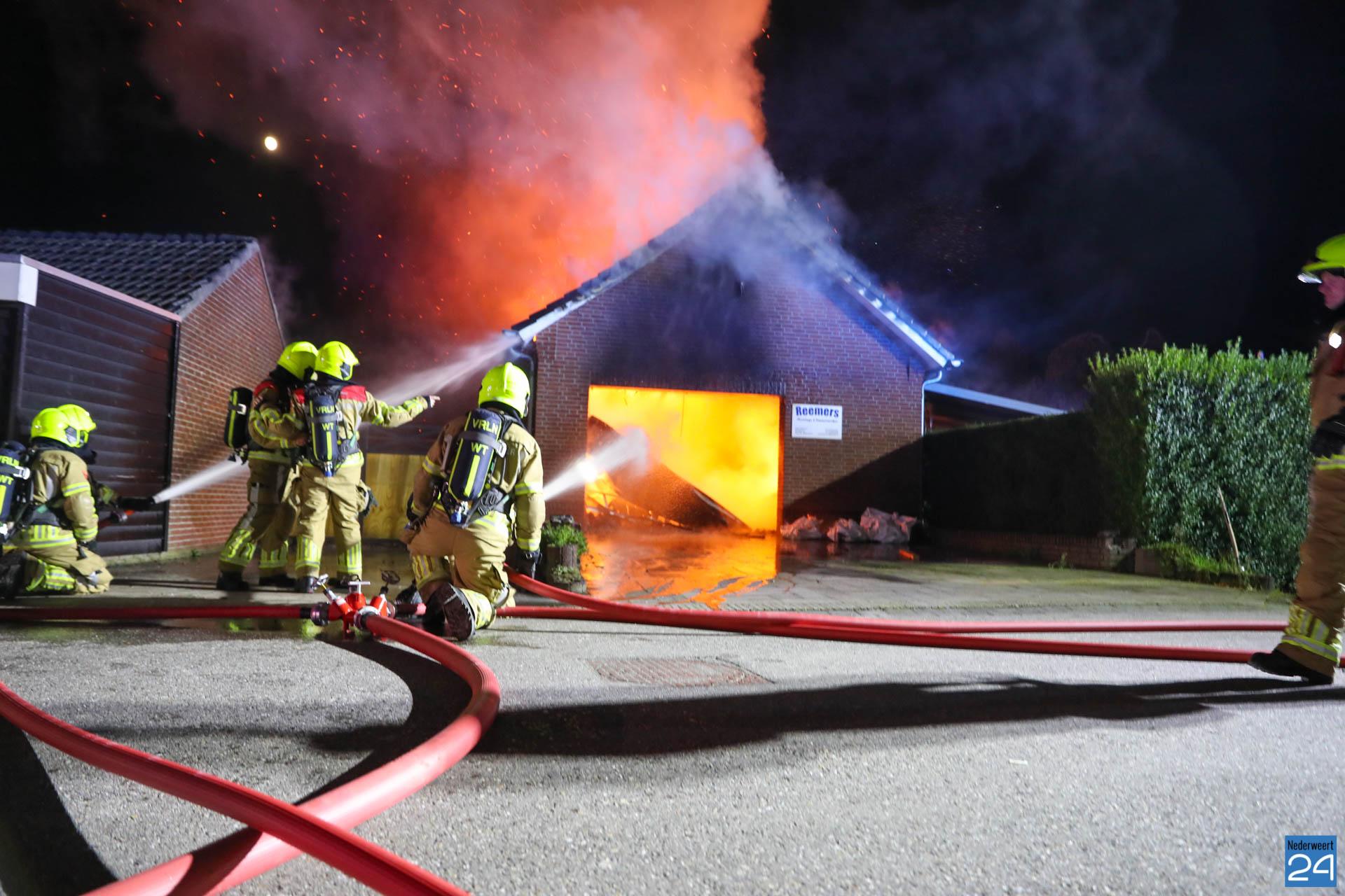 Grote uitslaande brand Strateris Nederweert - Nederweert24