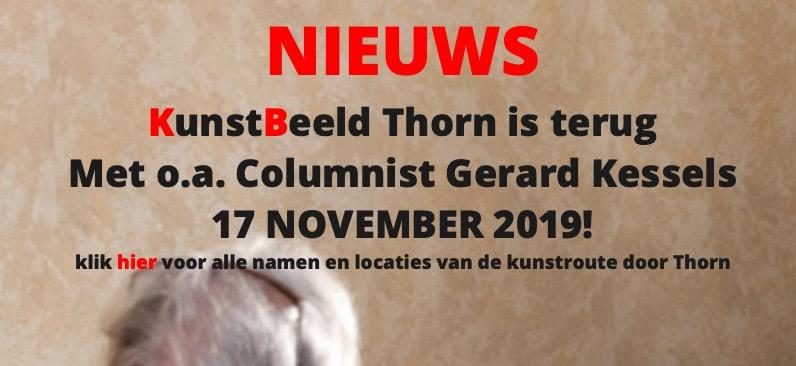 Columnist Gerard Kessels in gesprek met lezers tijdens culturele route door Thorn - Nederweert24
