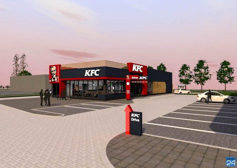 KFC Nederweert art impressie