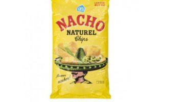 AH Nacho chips cheese in verpakking van AH Nacho chips naturel terechtgekomen