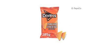 Doritos Nacho Cheese 185 gram kan mogelijk soja bevatten