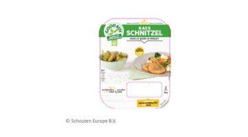 GoodBite Kaesschnitzel | Kaasburgers in de verpakking van de Kaesschnitzels