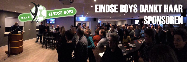 Sponsoravond Eindse Boys