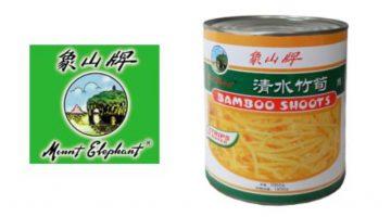 Mogelijk hard stukje plastic in ME Bamboo Shoots Strips