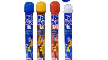 Megaroller XXL 105 ml van Funny Candy bevat hoge zuurgraad