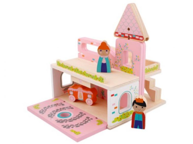 Mini Matters draagbare houten speelset Action