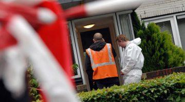Onderzoek dode vrouw in recreatiewoning Mierlo - foto politie