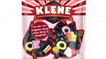 Klene een mix van Engelse drop, zoete drop en drop fruit 400 gram (allergenen)