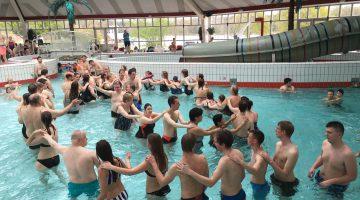 Zwemsportdag voor mensen met een beperking