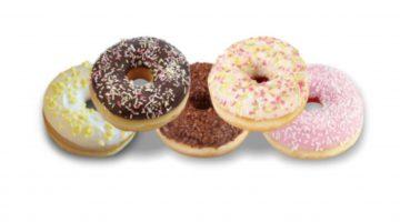 Belangrijke allergeen waarschuwing voor donut met deco SPAR