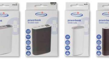 Belangrijke veiligheidswaarschuwing Trekpleister Powerbanks