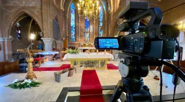 Bekijk hier terug | Eucharistieviering Palmzondag in Ospel