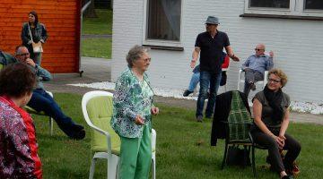 Mini concertjes voor twee lieve moeders in Nederweert