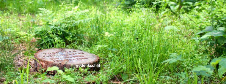 Crematorium Weerterbos Nederweert gedenkschijf
