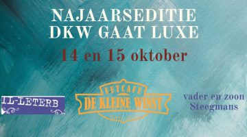 Eetcafé De Kleine Winst gaat in oktober wederom luxe