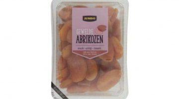 Veiligheidswaarschuwing Jumbo Gewelde Abrikozen (allergenen-sulfiet)