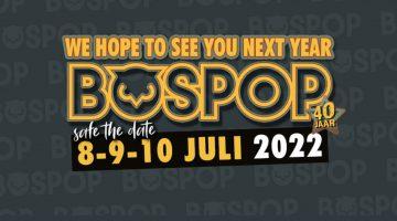 Jubileumeditie Bospop verplaatst naar 2022
