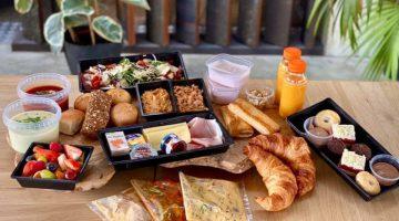 Take Away brunchbox voor vaderdag bij Guulke Eten en Drinken